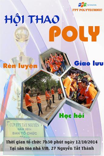 """Cao đẳng thực hành FPT Polytechnic Tây Nguyên tưng bừng tổ chức """"Hội thao Poly Tây Nguyên"""""""