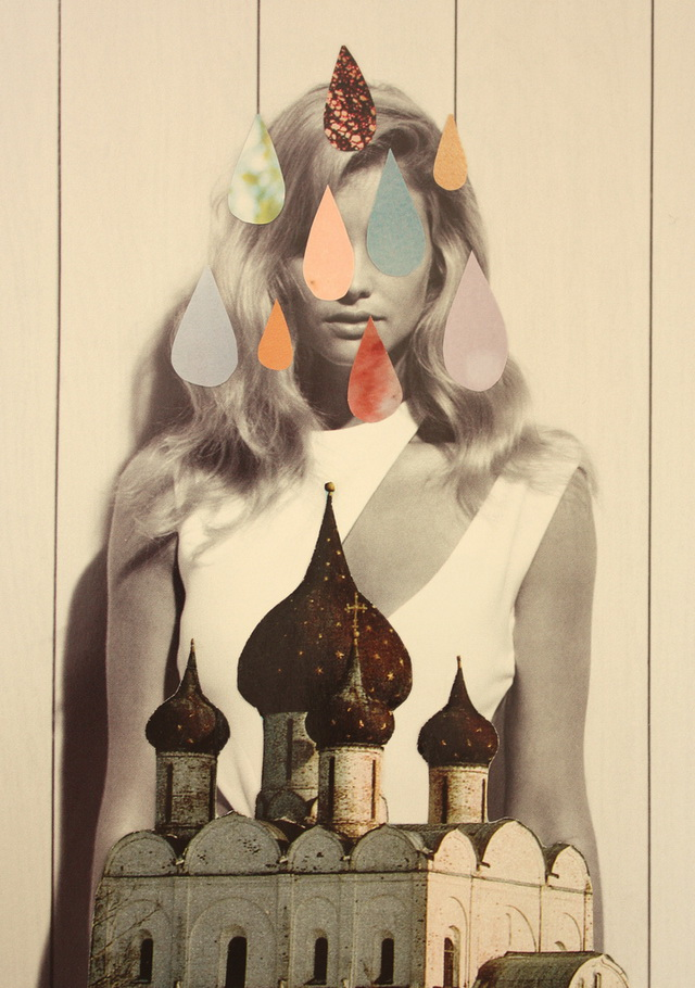 quatre collage by laura redburn