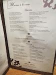 Murano's menu - awww yeah