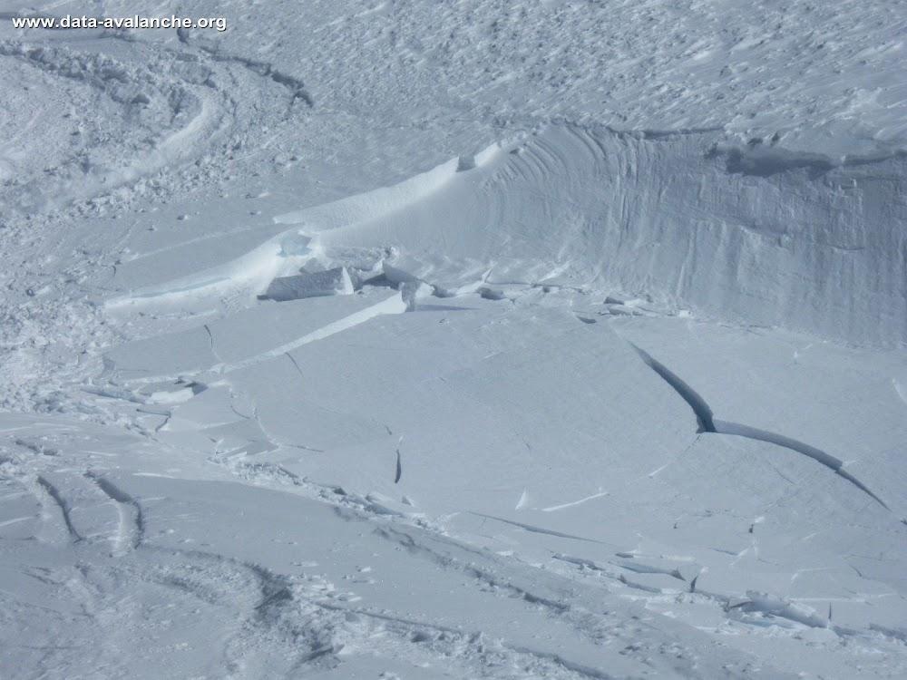 Avalanche Grandes Rousses, secteur Petites Rousses, Aval du Lac de Balme rousse - Photo 1