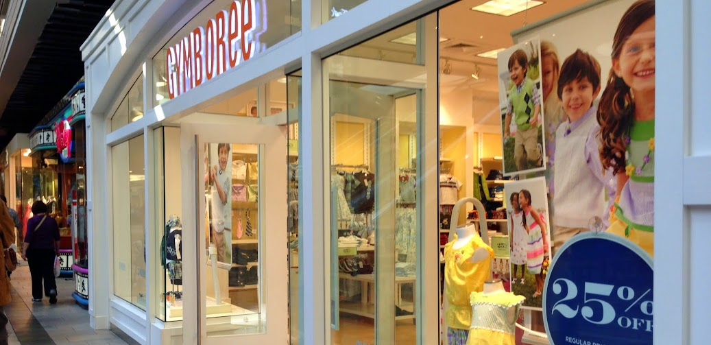 A Gymboree franchised store