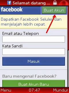 Cara Mudah Membuat Facebook Via Hp