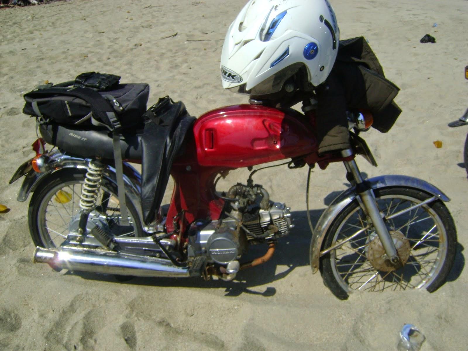 modifikasi sepeda motor honda win
