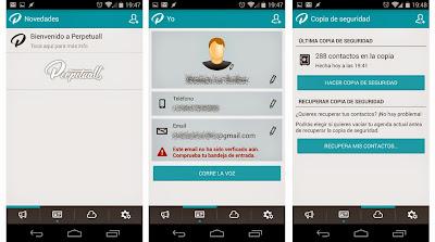 Hacer una copia de seguridad de los contactos del móvil