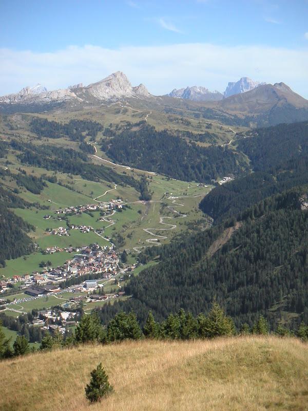 Dolomites • Corvara and Passo Campolongo