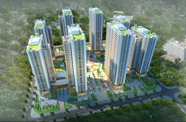 Phối cảnh chung cư An Bình City