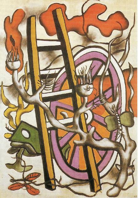Fernand Léger - Le papillon sur la roue (1948)