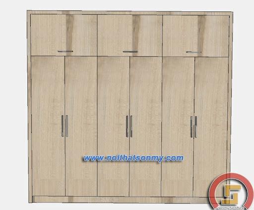 Tủ quần áo gỗ công nghiệp-2