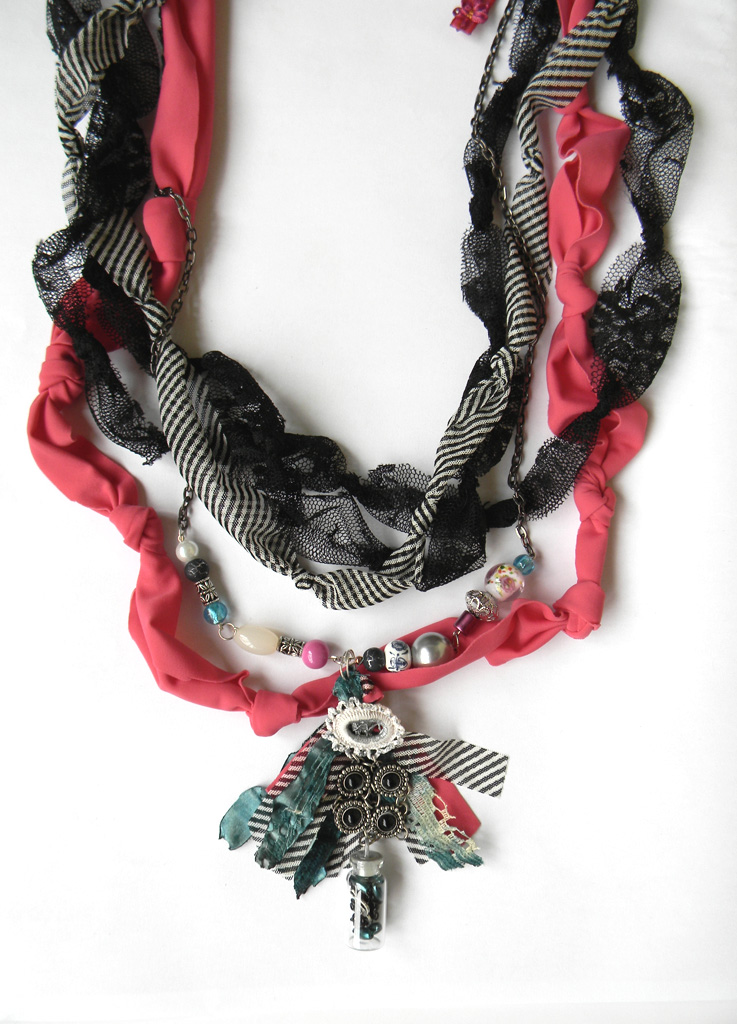 """Patchwork Spirit"" Necklace SOLD OUT"