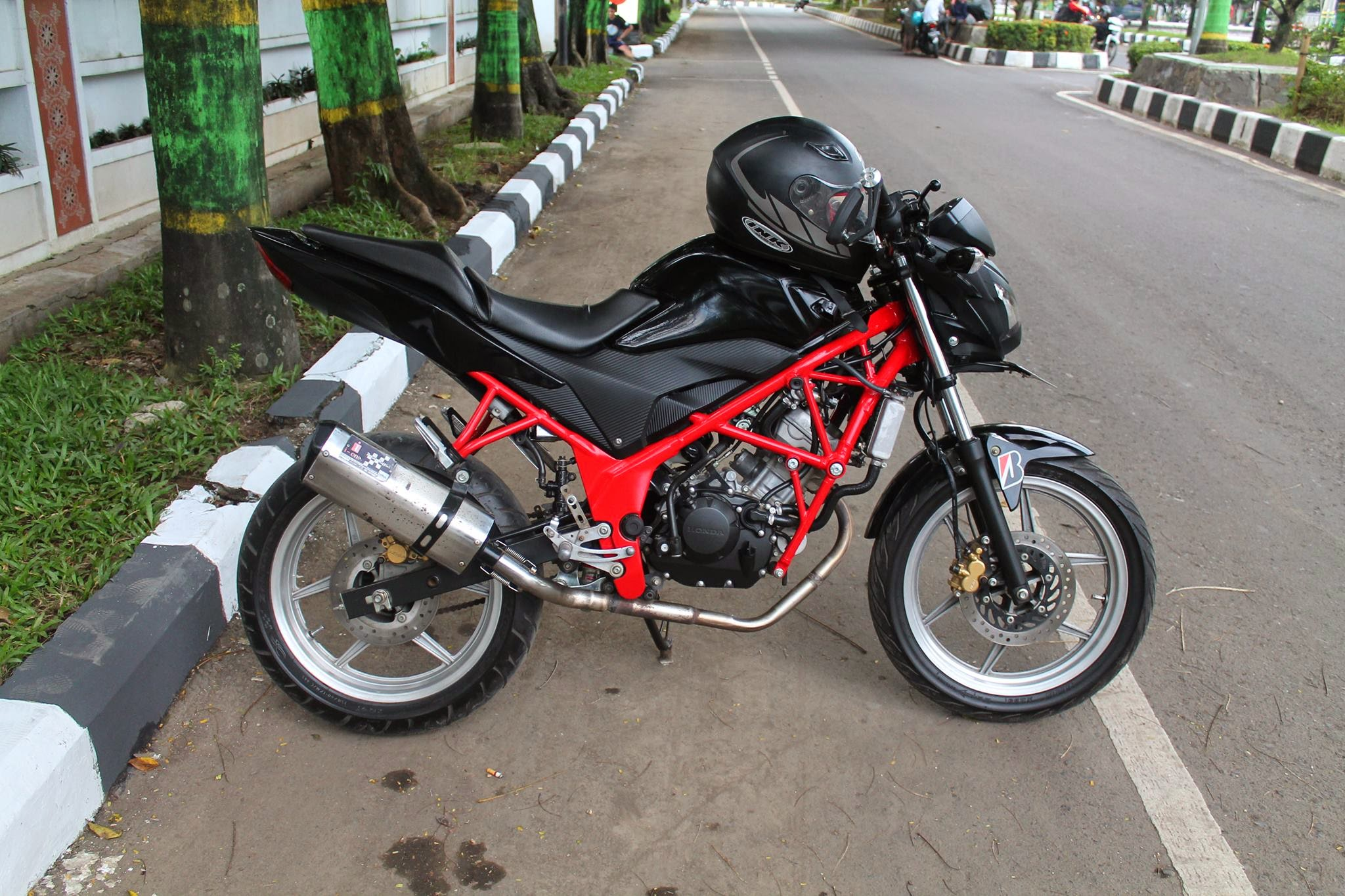modifikasi new vixion street fighter minimalis - thecitycyclist ™