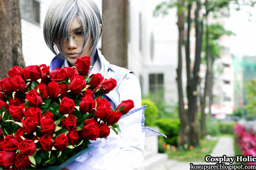 yami no matsuei cosplay / descendants of darkness cosplay - kazutaka muraki