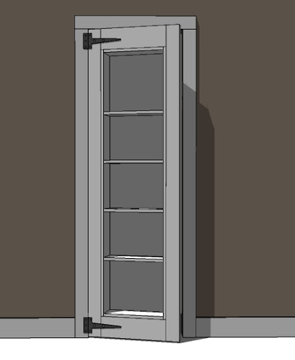If You Would Like To Also Build This Bookshelf Doorway, The Plans Follow  With Instructions On Modifying The Plans To Fit Your Doorway.