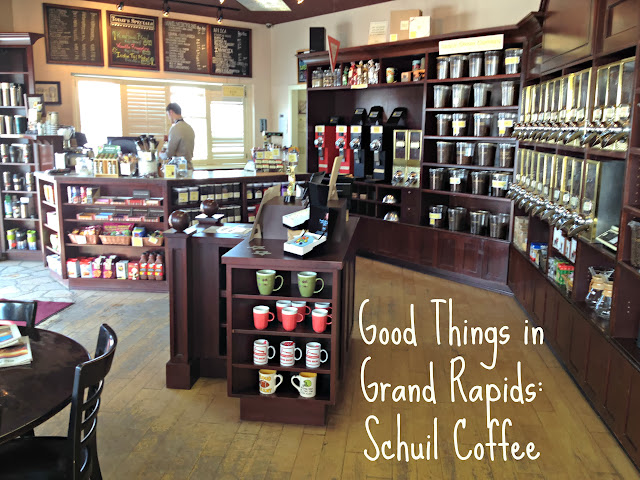 Good Things in Grand Rapids: Schuil Coffee & Tea