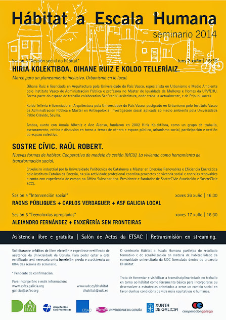 Cartaz seminario Habitat