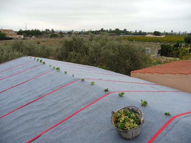 Cubierta vegetal ultraligera