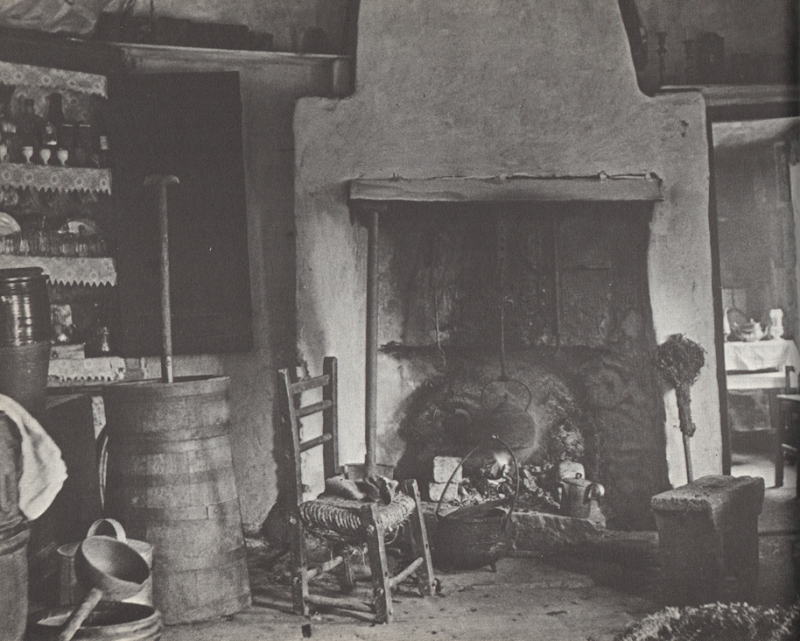 Irish Kitchen 1888