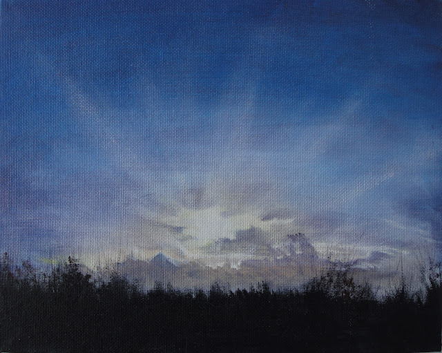 Twilight Sky 4 - Original Painting