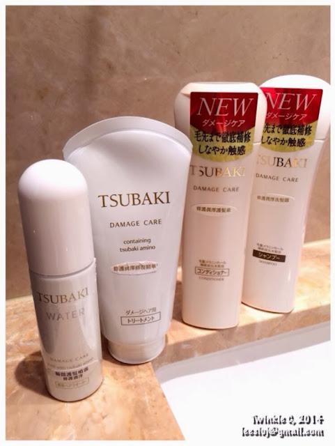 [HAIR] TSUBAKI 山茶花的呵護 - DAMAGE CARE 修護潤澤系列