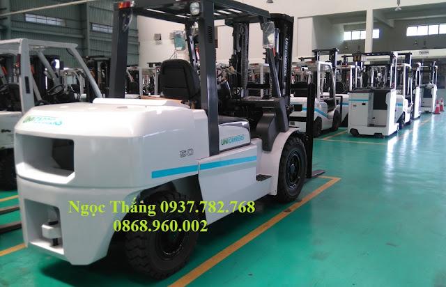 Xe nâng diesel 5 tấn Unicarriers