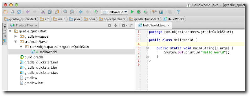 Gradle Quick Start | Object Partners