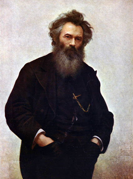 Ivan Kramskoy - Portrait of the painter Ivan Shishkin
