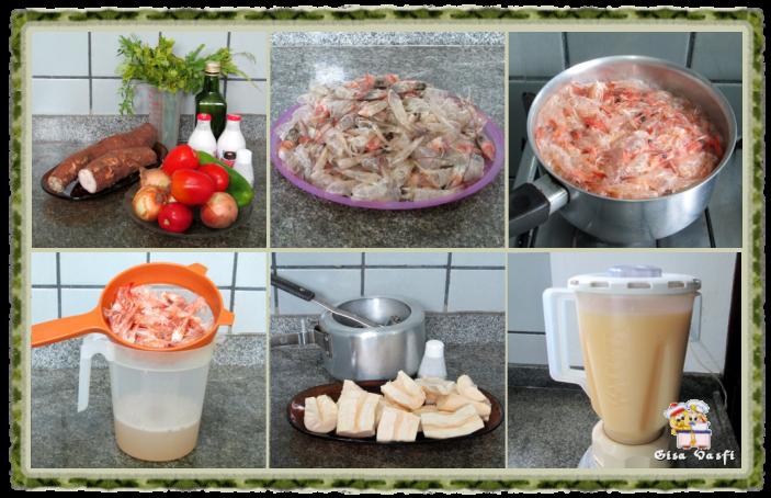 Sopa creme de camarão 3