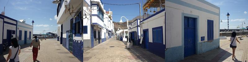 Promenade in Puerto de las Nieves