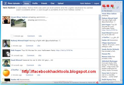 facebook login in desktop version