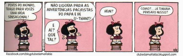 Clube da Mafalda: Tirinha 595