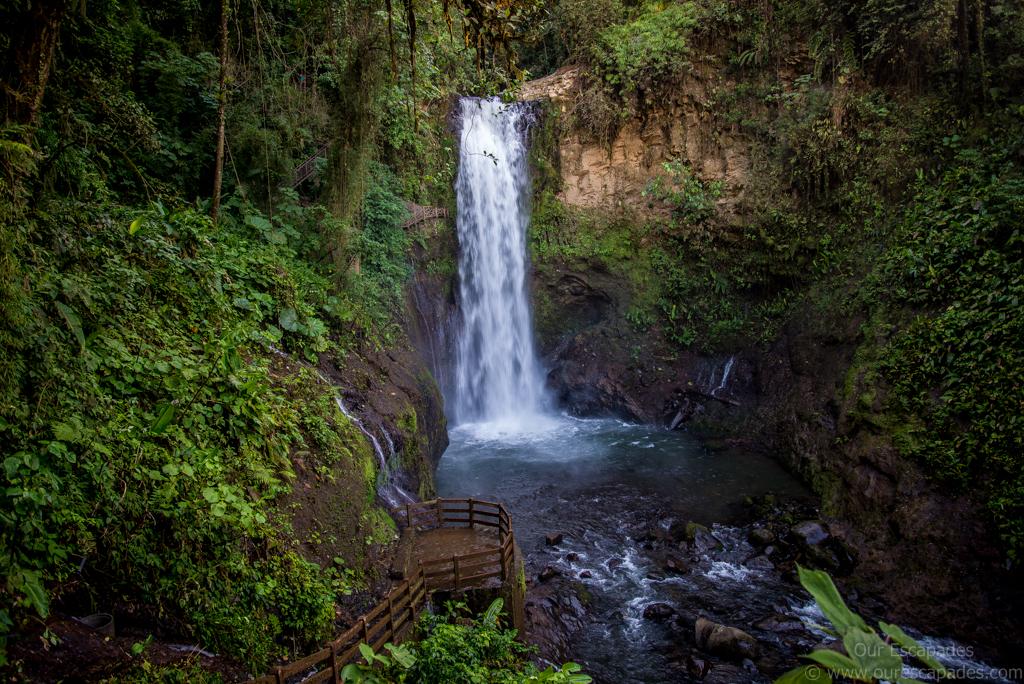 Magia Blanca waterfalls