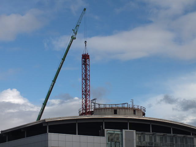 Tower Crane Removal Garthdee