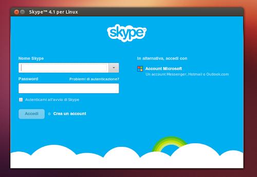 Skype 4.1 su Ubuntu