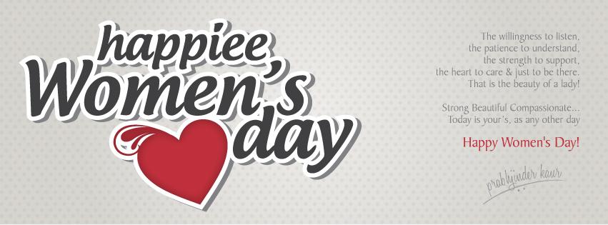 Happiee Women's day Cover