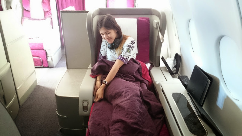 DSC 5038 - REVIEW - Qatar: First Class - Doha to London (A330)