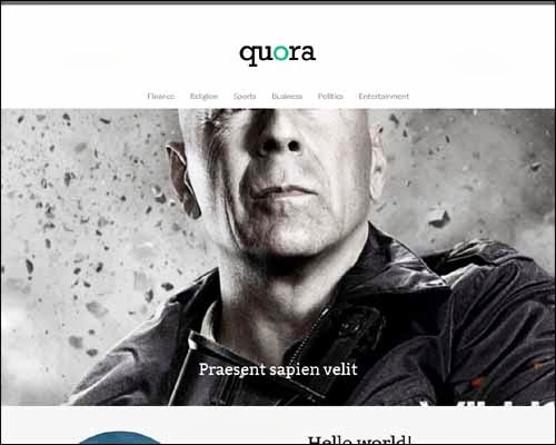 theme wordpress quora