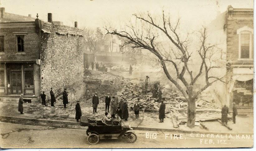 O incêndio que colocaria o ponto final da história da cidade ocorreria 50 anos depois.