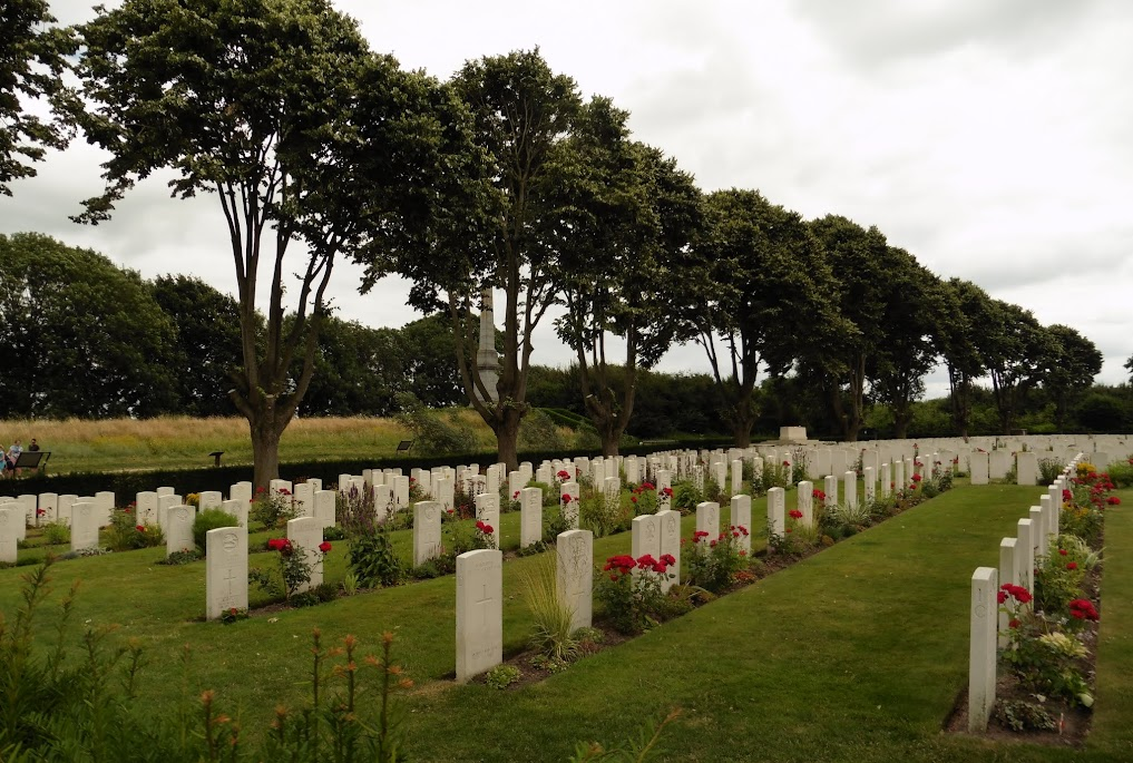 Essex Farm Cemetery Ieper