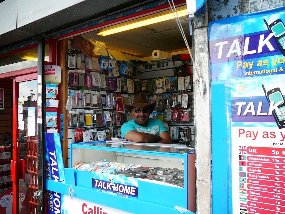 Bhinder Telecom, Peckham, Londres.