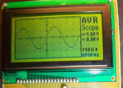 Microcontroller AVR Oscilloscope