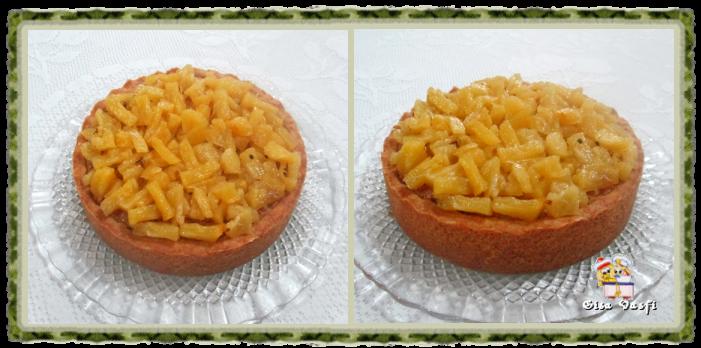 Torta de coco e abacaxi 2