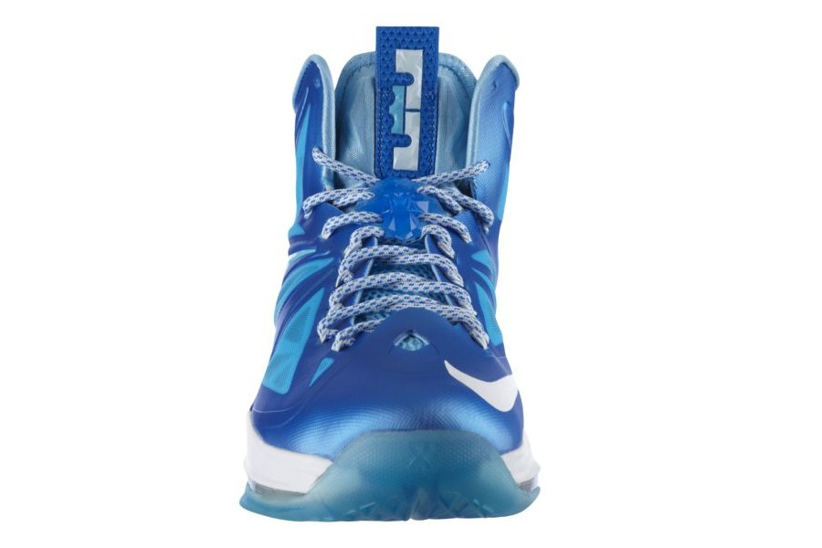 buy popular 257ec f637c ... Release Reminder Nike LeBron X Sport Pack 8220Blue Diamond8221