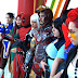 Cosplayers en lanzamiento mundial Marvel vs. Capcom: Fate of Two Worlds