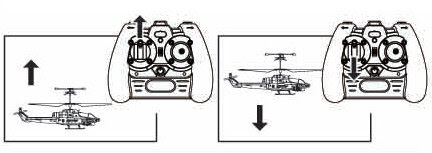 Взлет и посадка радиоуправляемого вертолета