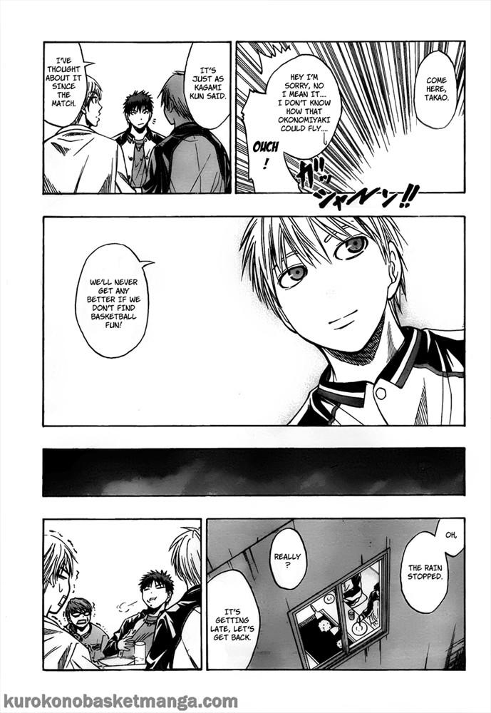 Kuroko no Basket Manga Chapter 36 - Image 15