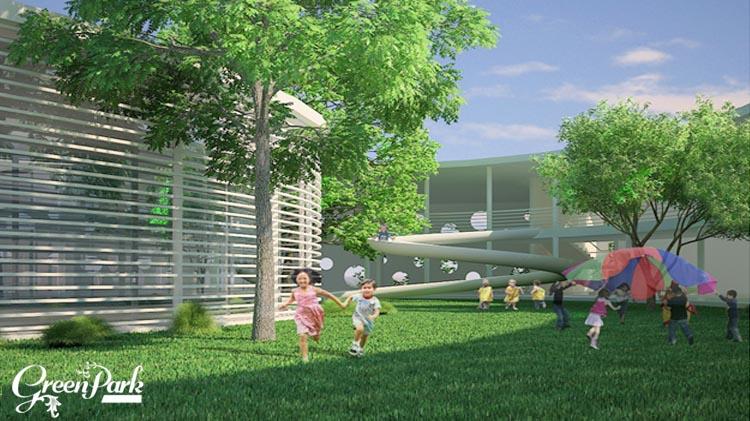 Tiện ích chung cư Phương Đông Green Park