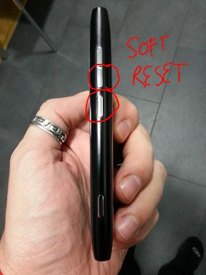 Soft reset Nokia Lumia 800