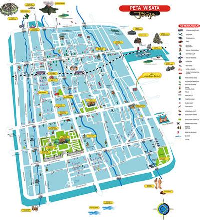 Sinar Abadi Transport Service Peta Wisata Yogyakarta