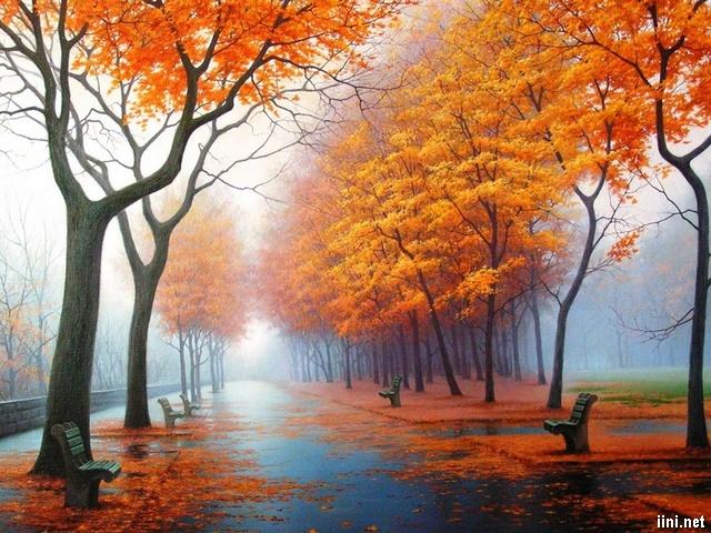 Chùm thơ tạm biệt Mùa Thu hay, thơ tình giao mùa Thu-Đông (tàn Thu)
