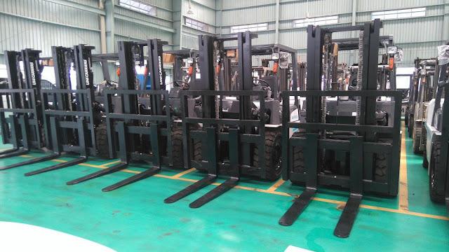 Cho thuê xe nâng diesel 4 - 5 tấn