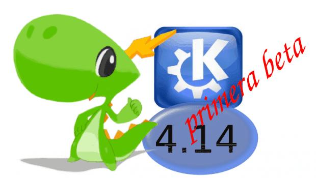 Disponible la primera beta de KDE 4.14 Aplicaciones y plataforma